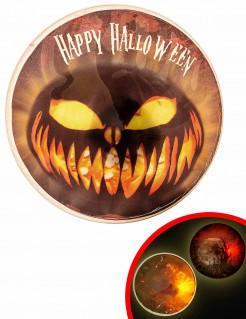 LED-Licht-Abzeichen für Halloween 9cm