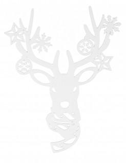 Fenster-Rentierdekoration Weihnachten 35cm