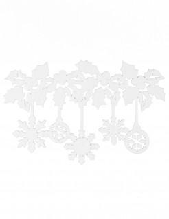Fenster-Folzdekoration für Weihnachten