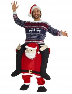 Huckepack Weihnachtsmann-Kostüm
