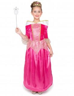 Prinzessin-Mädchenkostüm Königin-Verkleidung rosa