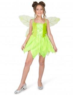 Märchenhaftes Feenkostüm für Kinder grün