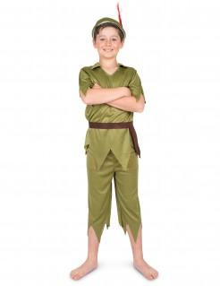 Elfen-Kinderkostüm Märchenkostüm grün-braun