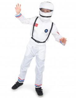 Astronauten-Kinderkostüm Raumfahrerkostüm weiss