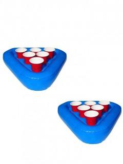 Aufblasbares Beer-Pong-Set mit Bechern