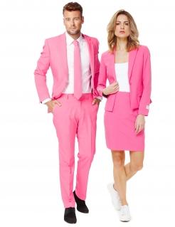 Opposuits™ Einfarbige Paaranzüge lang rosa
