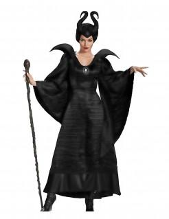 Böse Hexe Halloween-Damenkostüm schwarz