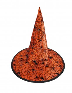 Hexen Spinnen-Hut für Kinder Halloween-Accessoire