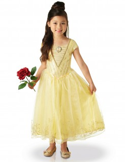 Disney™ Belle™ Prinzessin Kinderkostüm Lizenzware gelb