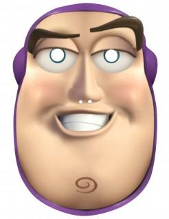 Buzz™-Maske Toy Story™-Lizenzmaske hautfarben-braun