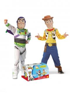 Toy Story™ Kostüm-Set Buzz und Woody für Kinder bunt
