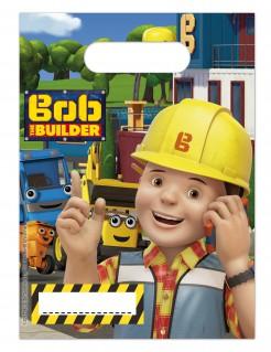 Bob der Baumeister™ Geschenktüten Kindergeburtstag Lizenzware 6 Stück bunt 16x23cm