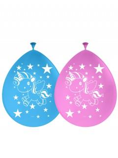 Einhorn-Latexballons 8 Stück