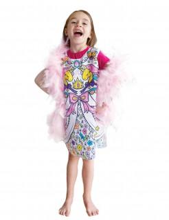 Waschbares Mal-Kleid für Töchter - bunt