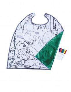 Wende-Cape Drachen für Jungen