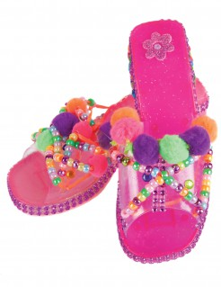 Prinzessinnen-Schuhe zum Fertigstellen Kinder rosa