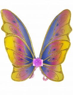 Schmetterlingsflügel mit Glitzer für Mädchen
