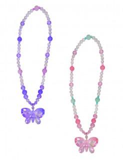 Schmetterling-Halskette für Mädchen