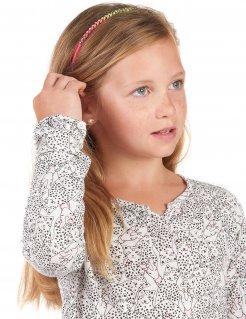 Leuchtender Haarreif mit Schmucksteinen für Mädchen
