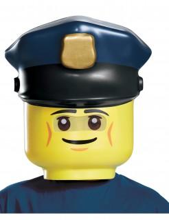 LEGO™ Polizist Kindermaske Lizenzware gelb-blau