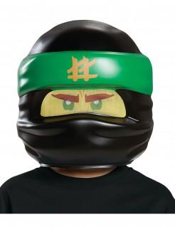 LEGO™ Ninjago™ Kindermaske Lloyd Lizenzware schwarz-grün