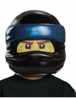 Jay Ninjago™ Maske für Kinder LEGO™ Lizenzartikel schwarz-blau