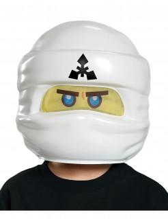 LEGO™ Ninjago™ Kindermaske Zane Lizenzware weiss