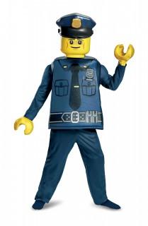 LEGO™ Polizist Kinderkostüm für Jungen bunt