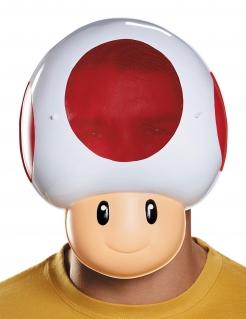 Nintendo™ Toad™ Maske Lizenzware weiss-rot