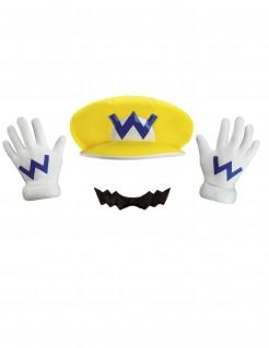 Wario-Accessoire-Set für Kinder Nintendo®-Lizenzartikel