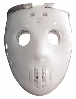 Leuchtende 2 in 1 Hockey-Maske für Halloween