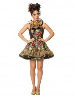 Kostüm Barock-Clown für Damen