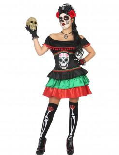 Dia de los Muertos Kostüm für Frauen