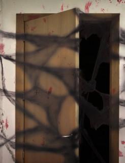 Dekoration Halloween Spinnennetz 20g schwarz