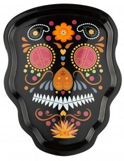 Dia de los Muertos Skelett Tablett 35 cm