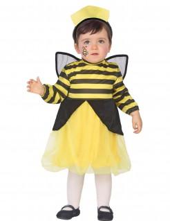 Bienen-Kostüm für Kleinkinder schwarz-gelb