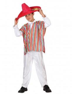 Jungen-Kostüm Mexiko weiß