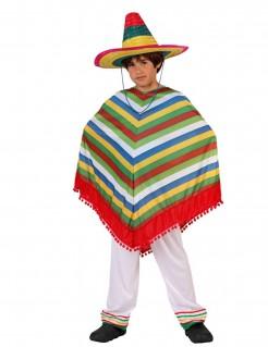 Kostüm Mexikaner für Jungen bunt