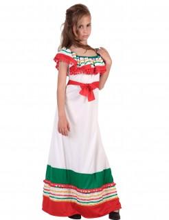 Kostüm Mexikanerin für Mädchen