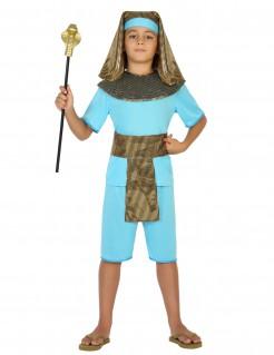 Kostüm Pharao für Jungen blau