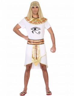 Ägypter-Kostüm für Männer weiss