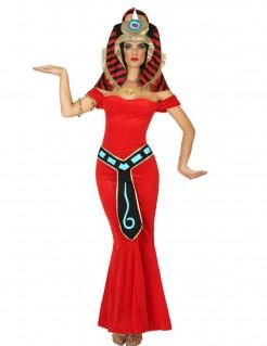Ägyptische Gottheit Kostüm für Erwachsene bunt