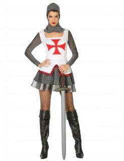 Kostüm mittelalterlicher Ritter für Damen