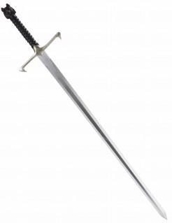 Ritterschwert Langschwert silber-schwarz 88cm