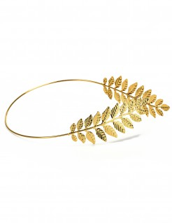 Römischer Lorbeerkranz Antike Kostüm-Accessoire gold