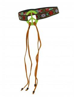Hippie Stirnband Kostümaccessoire bunt