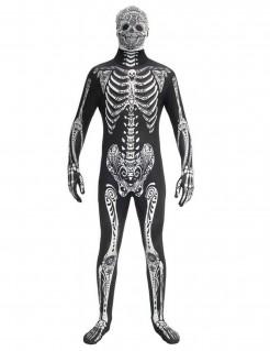 Dia de los Muertos Skelett-Gentleman Morphsuits™ Kostüm für Erwachsene