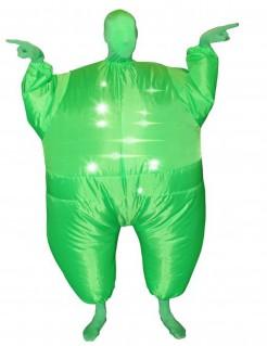 Aufblasbares Morphsuits™ Kostüm für Erwachsene grün