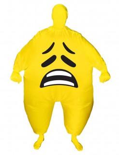 Morphsuits™ Emoticon-Kostüm trauriges Gesicht für Erwachsene
