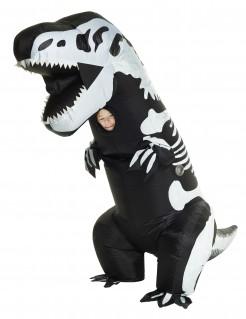 Morphsuits™ Kostüm aufblasbares T-rex Skelett für Kinder